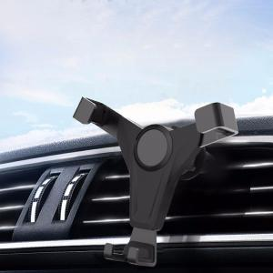 Metal Vehicle-mounted Gravity Bracket Mobile Phone Stand Metal Gravity Car Holder For Car Air Outlet