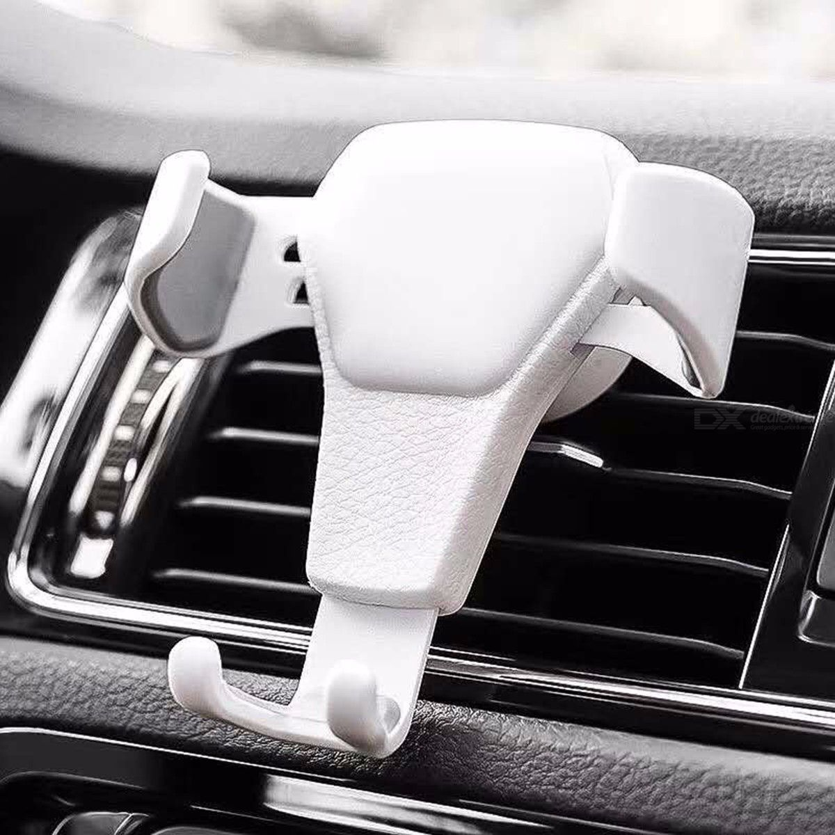 Universal Car Air Vent Mount Phone Gravity Holder 3D Leather Design