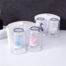Creative-Toothbrush-Holder-Swan-Wall-Mount-Rack-For-Resin-Cup
