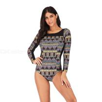One-Piece-Swimsuit-Retro-Print-Backless-Long-Sleeve-Surfing-Swim-Suits-For-Women