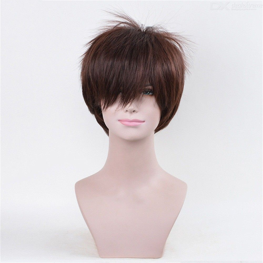 25CM Okumura Yukio Cosplay Wig Costume Party Lace Hair For Coser
