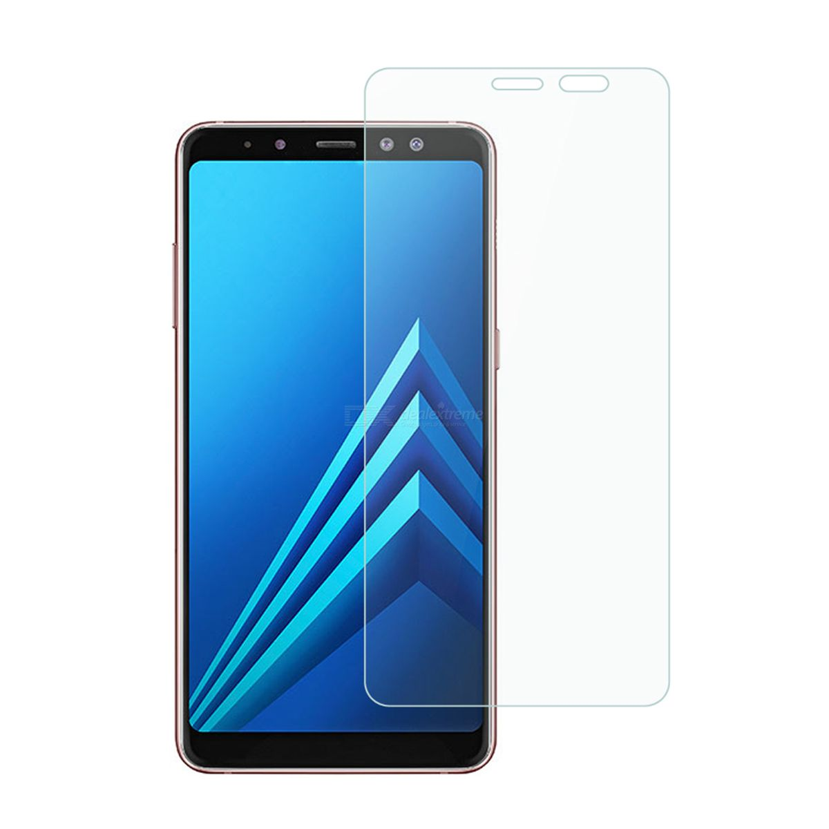 Dealextreme / Dayspirit Tempered Glass Screen Protectors for Samsung Galaxy A8+ (2018), A8 Plus 2018 , A730