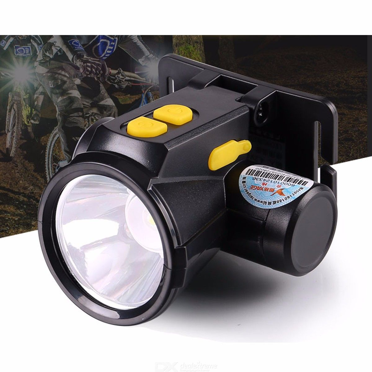 YG-5599 USB Rechargeable LED Headlamps Strong Light Outdoor Fishing Lamp