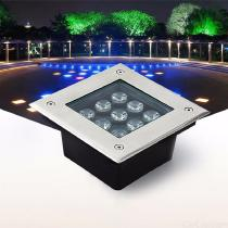 70-X-130mm-Landscape-Light-9W-LED-In-ground-Decorative-Lighting-For-Garden-Square