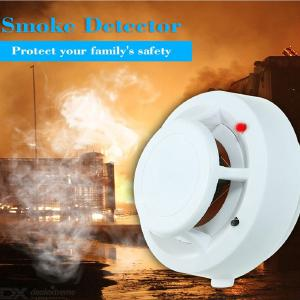 High Sensitive Wireless Alarm System Security Independent Smoke Detector Fire Protection Sensor For Home/Store/Hotel/Factory