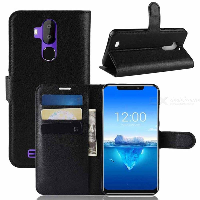 PU Leather Full Body Flip Phone Cases for Oukitel C12 Pro