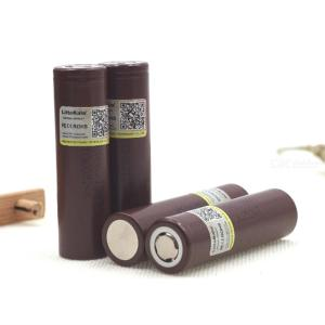 4PCS LiitoKala For HG2 18650 3000mAh Electronic Cigarette Rechargeable Battery Power High Discharge 30A Large Current