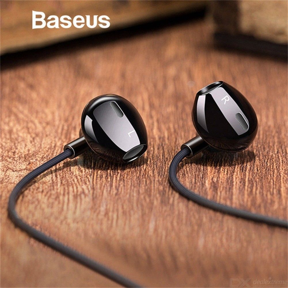 In-ear Stereo Earphones Headphones 3.5mm Wired Control HiFi Headset For IPHONE Xiaomi Phone