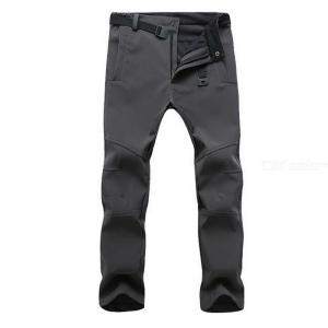 Mens Outdoor Pants Stretchy Loose-fitting Hiking Pants