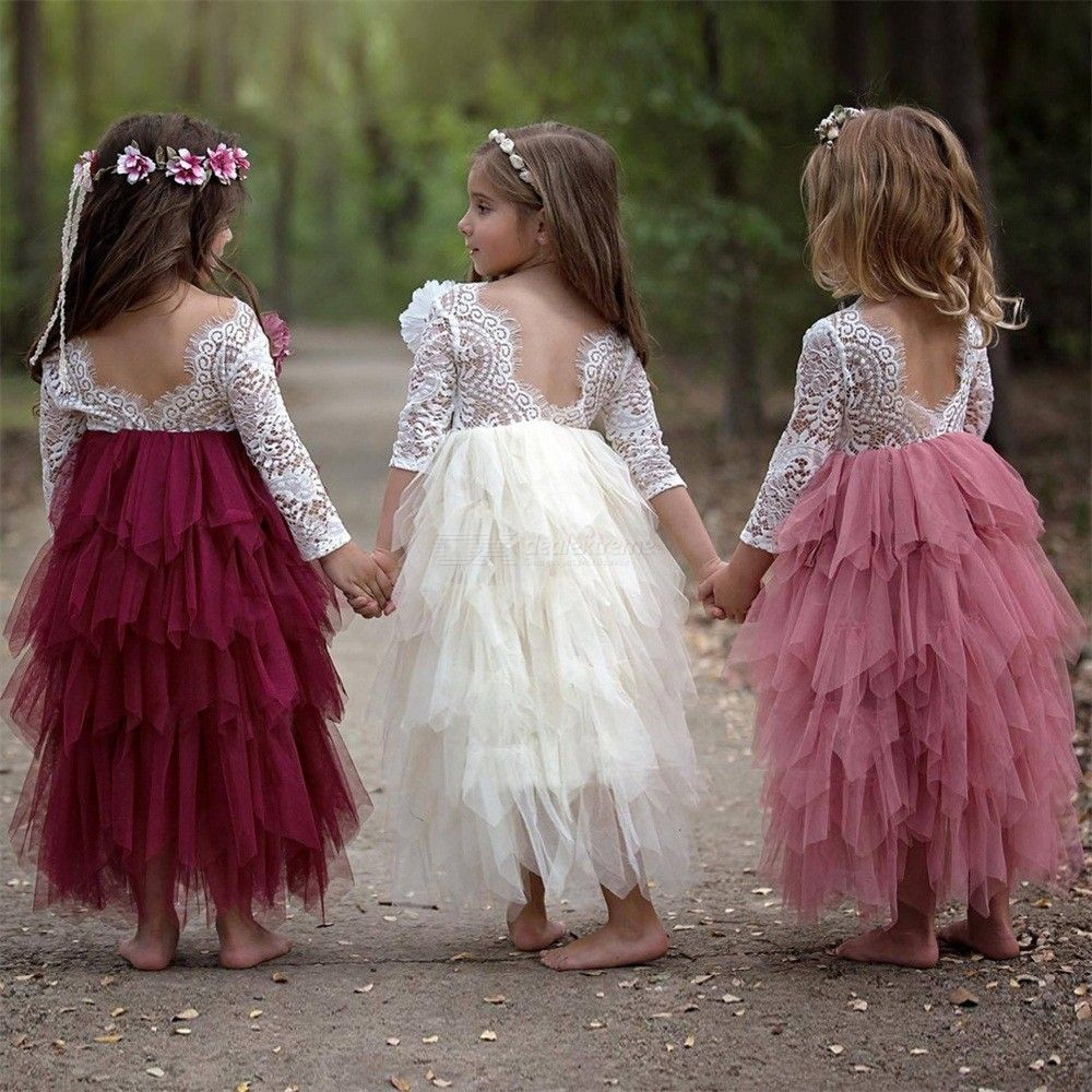Princess-Baby-Girls-Dress-Backless-Lace-Long-Sleeve-Tulle-Tutu-Party-Formal-Dresses
