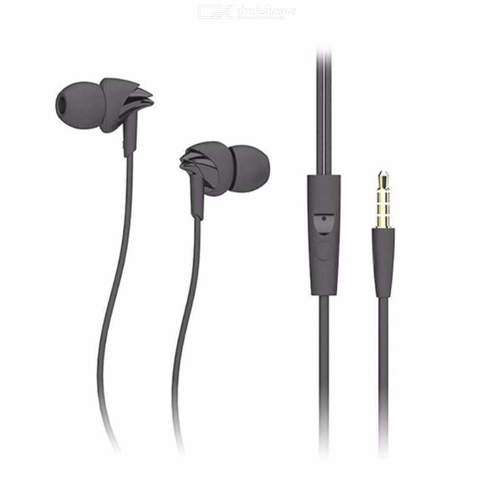 Wired Stereo Earphones With 3.5mm Jack In-ear Super Clear Earbuds With Mic For IPHONE Xiaomi