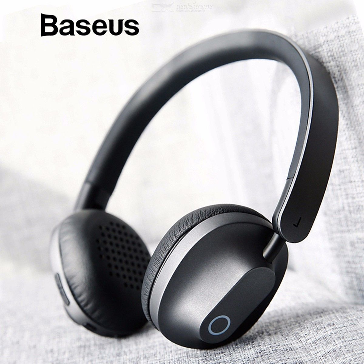 Wireless Bluetooth Headphones Stereo Headset With Mic For Phone