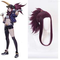Akall-Cosplay-Hair-LOL-KDA-Lace-Wig-Cap-For-Costume-Play