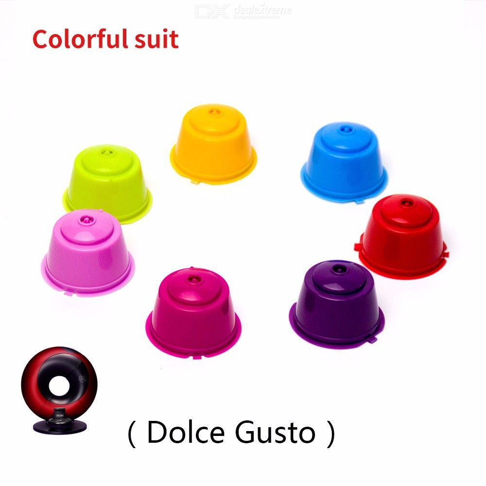 Plastic-Reusable-Refillable-Capsule-Colorful-Suit-Coffee-Tools