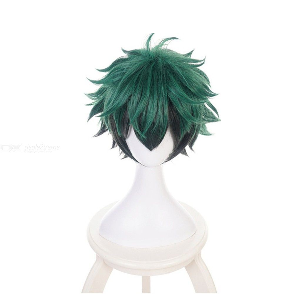 Midoriya Izuku Cosplay Wig My Hero Academia Character Costume Play Hair