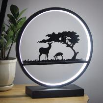 Creative-LED-Light-Modern-18W-Metal-Deer-Lamp-For-Home-Decoration-30-X-33cm