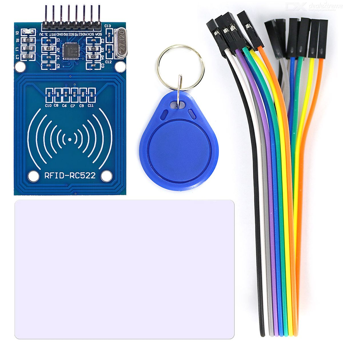 OPEN-SMART RC522 RFID Card Reader Module Kit w/ 8P Cable for Arduino