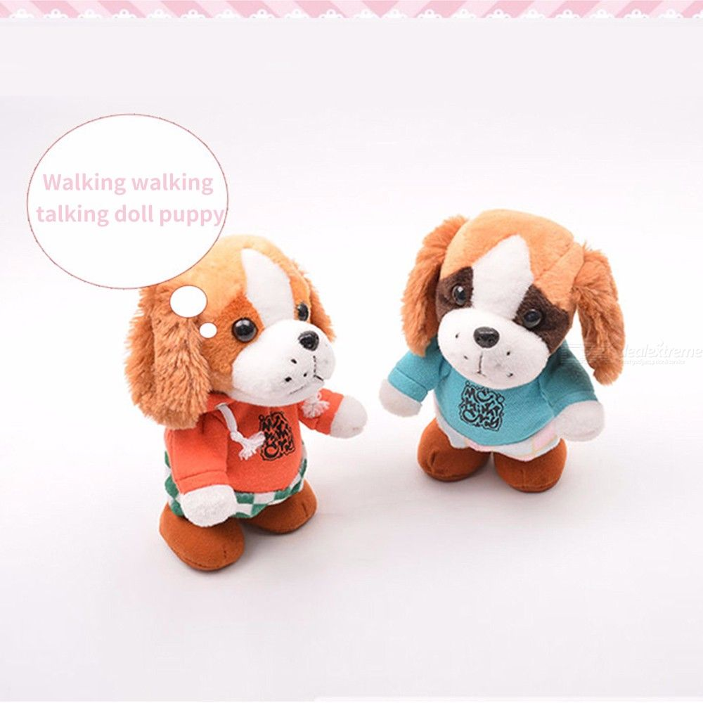 Kids-Plush-Sound-Toys-Baby-Electronic-Cute-Dolls-Sound-Record-Dog-For-Kids-Gift