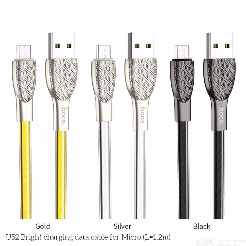 Micro USB Charging Cord Stylish Relief Patterned Charger Cord For HTC