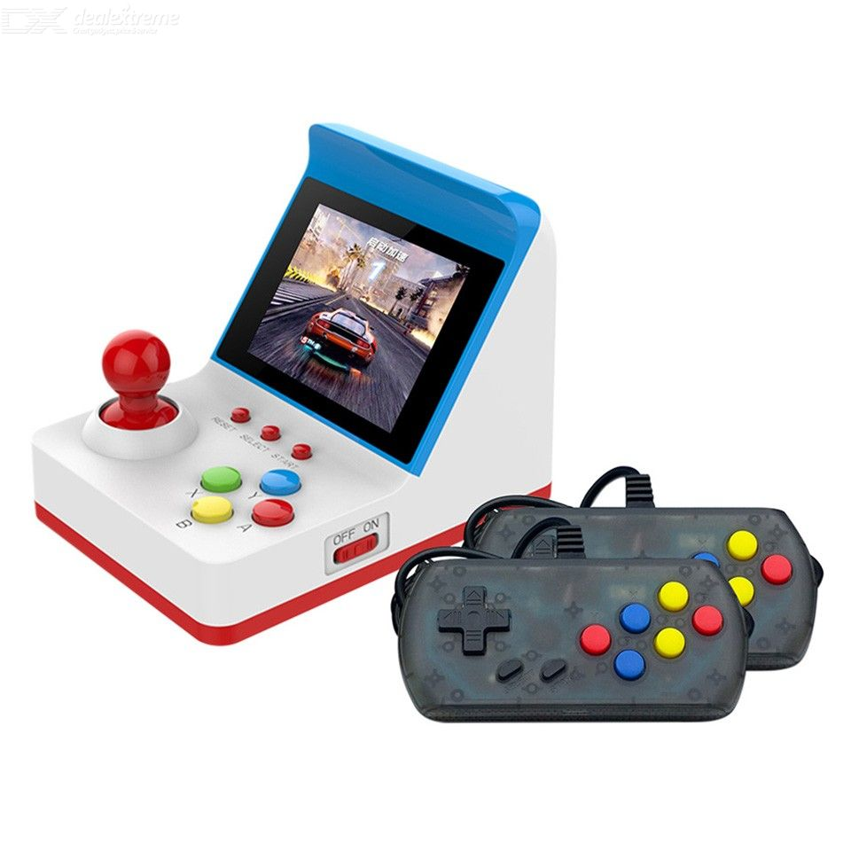 Image of Portable Retro Miniature Arcade Game Console Handheld Game Machine 3 Inch Screen Joysticks 360 Classic Games