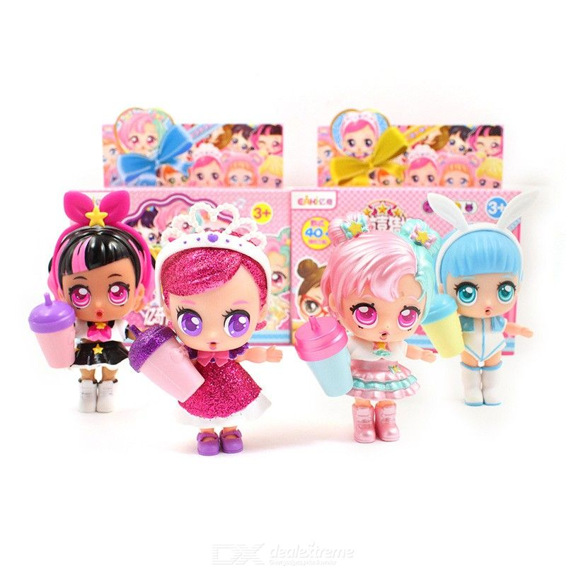 Image of DIY Surprise Dolls Kids Toys Princess Doll Lol Baby Ball With Gift Box Toys For Children New Year Present