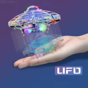 Creative Flying UFO Infrared Induction 4 Channels RC Aircraft Toy For Children