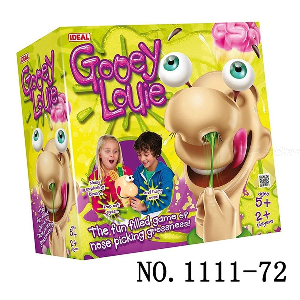 Gooey Louie Board Game Replacement Parts Pieces Boogers Goliath Trick Toys