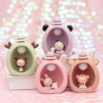 Creative-Candy-Color-Table-Light-Cute-Lamb-Home-Decor-Resin-Decoration