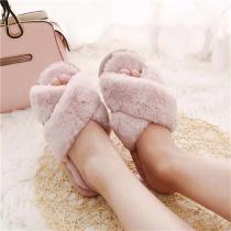 Winter-Women-Home-Slippers-With-Short-Faux-Fur-Fashion-Flats-Warm-Shoes