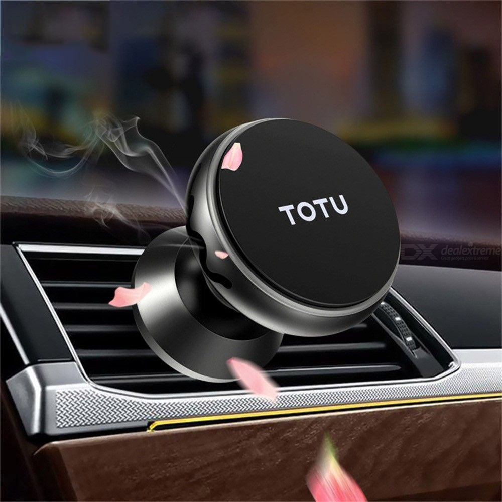 Magnetic Car Holder Dashboard Phone Stand Air Vent Grip Mount Bracket