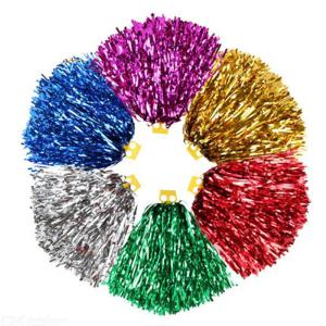 Cheerleading Pom Poms Flower Ball Graduation Back To School Party Decoration Performance Props
