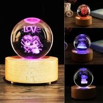 Light-Effect-Changeable-Valentine-Crystal-Ball-Musical-Light-Gift-Personalized-Romantic-Lovers-Valentines