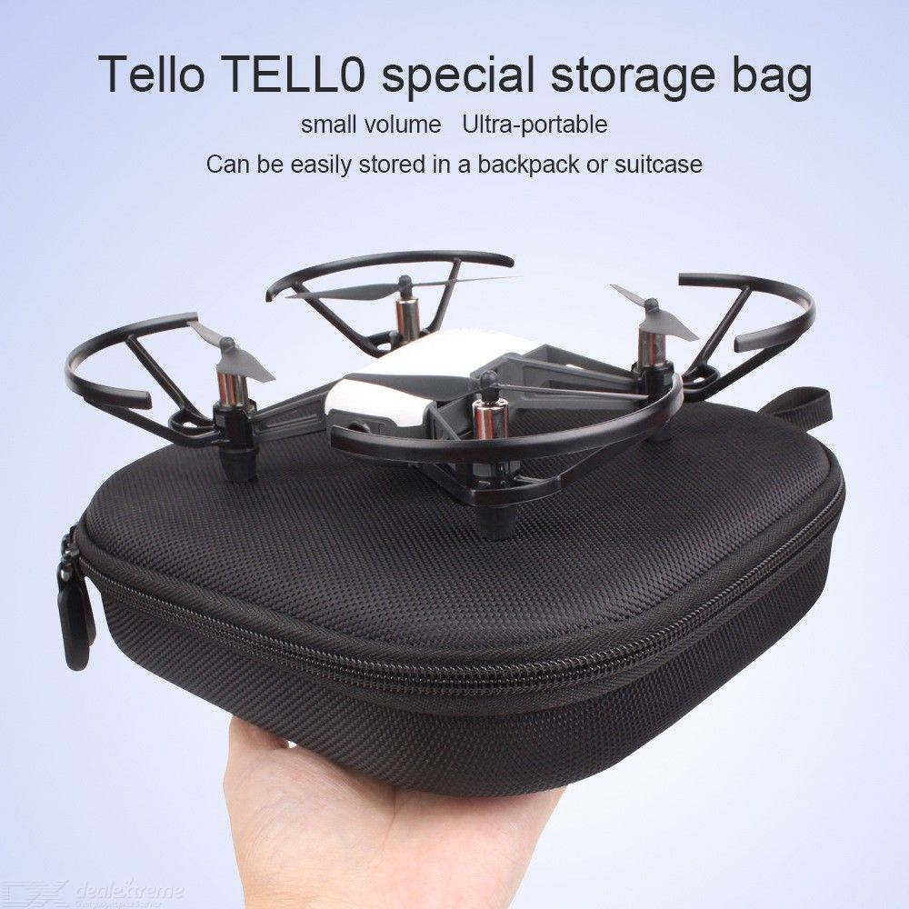 Portable Drone Carrying Case Zipper Storage Bag For DJI Quadcopter 197 X 188 X 51mm