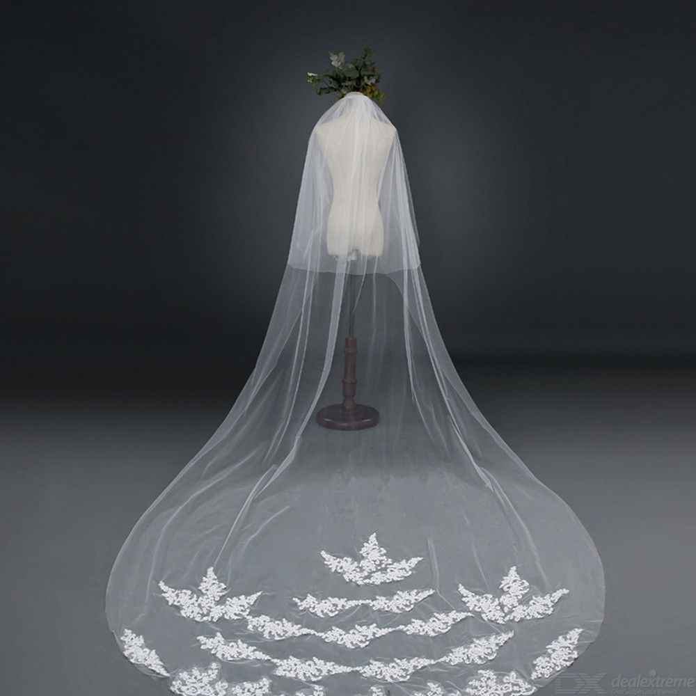 Elegant-Long-Tulle-Bridal-Veil-With-Comb-For-Bride-Wedding-Accessories-3m