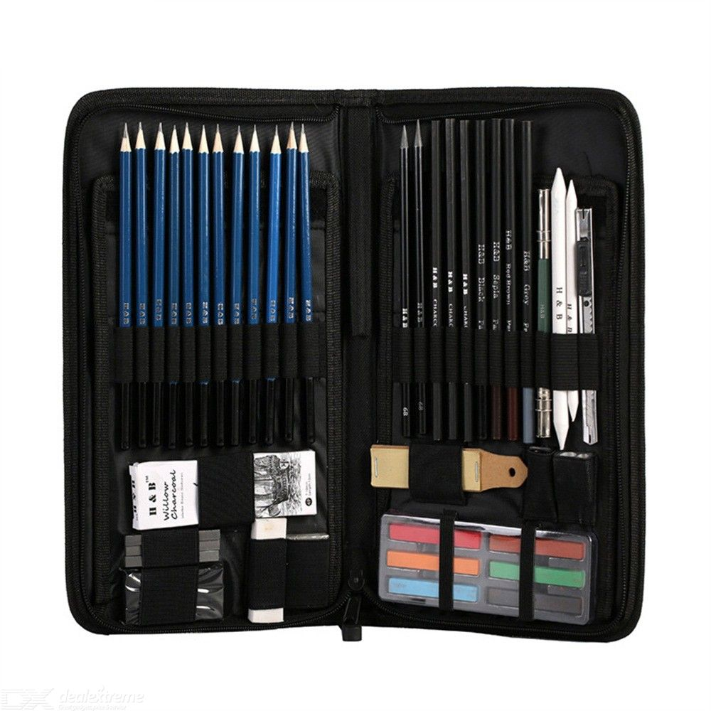 48PCS-Sketch-Pencil-Pack-Graphite-Drawing-Pencils-For-Pages-Books