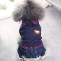 Winter-Warm-Clothes-For-Small-Dogs-Jean-Jumpsuit-Chihuahua-Puppy-Rompers-Pet-Costume
