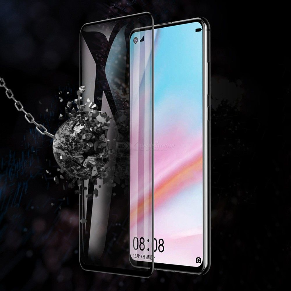 Dx coupon: 0.3mm Screen Protector Tempered Glass Curved Display Protection For Huawei Nova 4