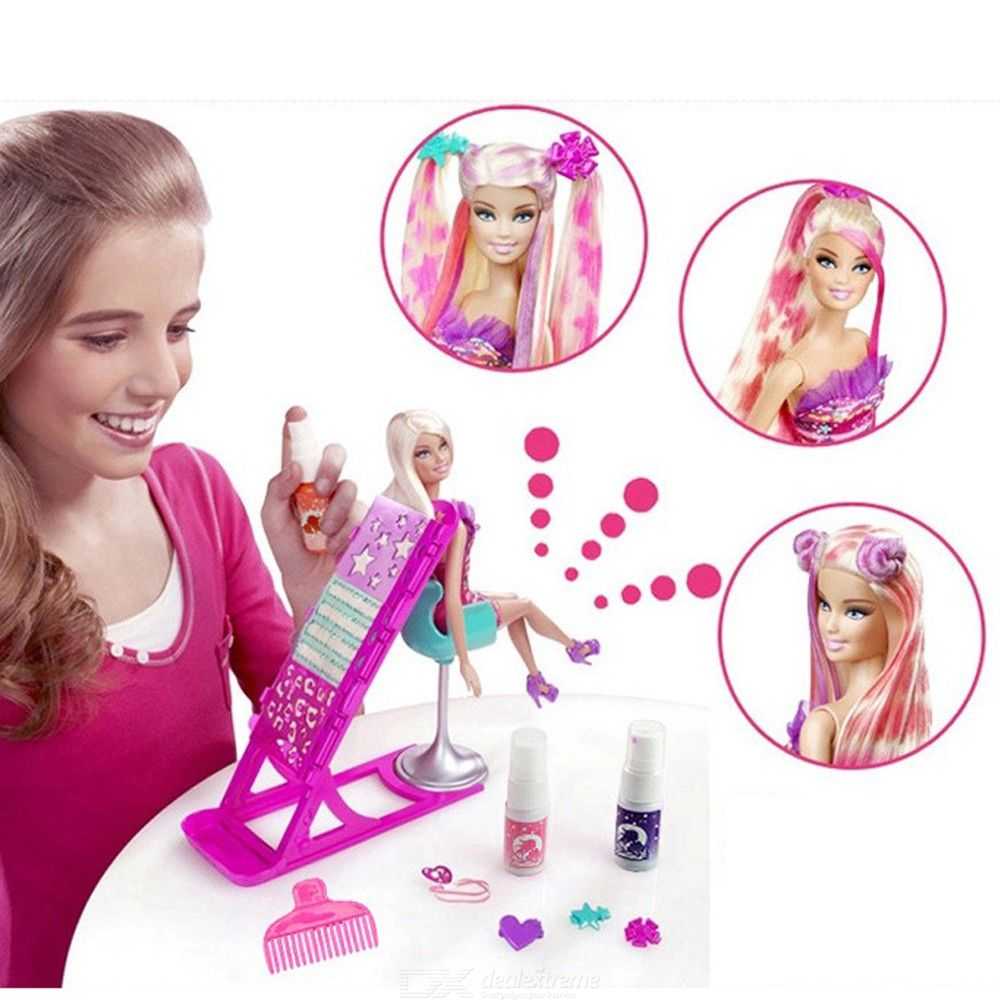 Barbie-Hair-Artist-Doll-Playset-Creative-Hairstyle-Design-Toy-For-Girls-(30cm)