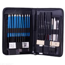 40PCS-Charcoal-Sketching-Pencils-Art-Supplier-Kit-For-Drawing-And-Painting