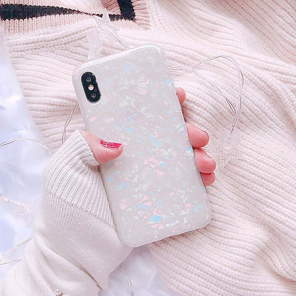 Mobile Phone Creative Glossy Soft Fitted Cases For IPHONE 6/6S/7/8/X/7 Plus