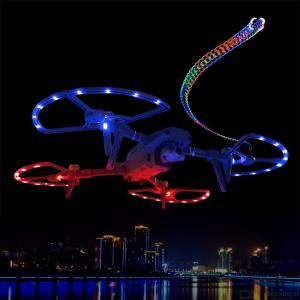 Light Up Propeller Guard LED Anti-collision Ring For MAVIC 2PRO Zoom With 8 Light Modes