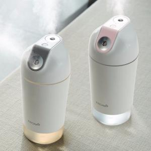 500ml Air Humidifier With 2 Mist Outlet Wireless Freshener For Office Home Desktop