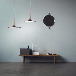 Nordic Simple Cafe Pendant Light Living Room Restaurant Creative Bar Saucer Lamp
