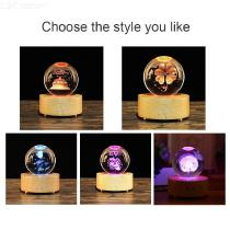 LED-Crystal-Ball-Wooden-Luminous-Music-Box-Rotary-Wireless-Bluetooth-Speakers