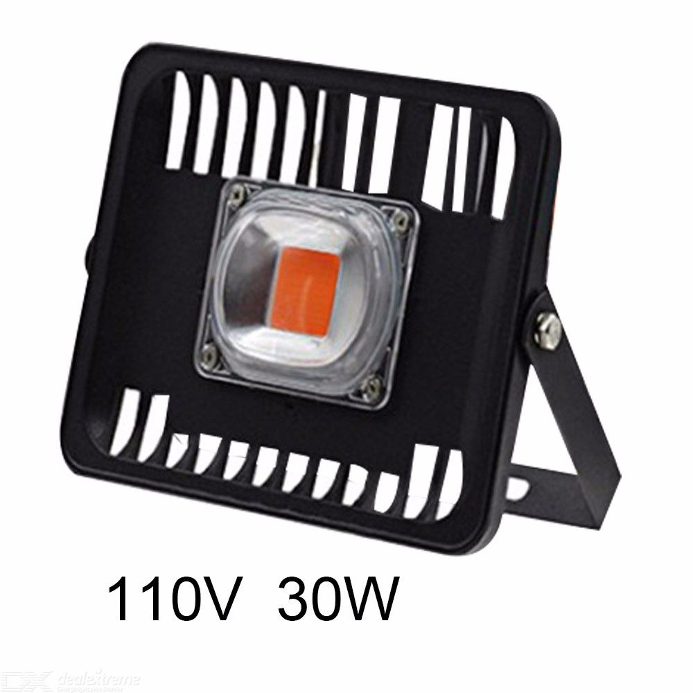 1200LM 30W LED Grow Flood Light IP66 Waterproof Outdoor For Square Garden