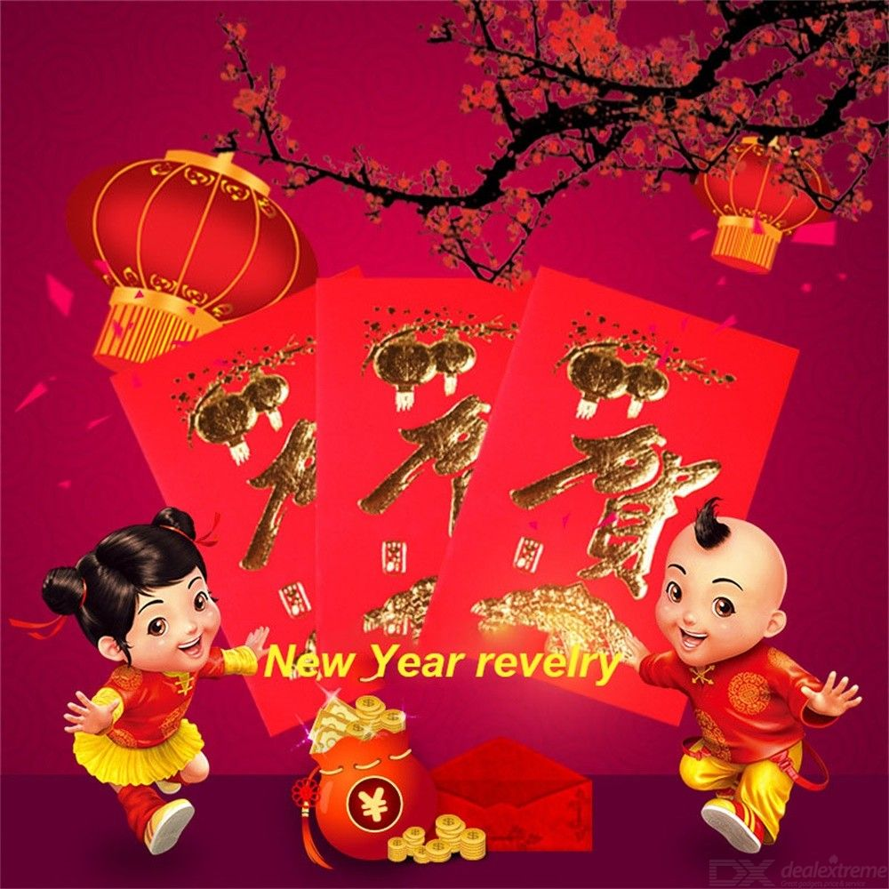 30PCS Red Envelope Wedding Red Envelope Chinese New Year Red Pocket Spring Festival Best Wish