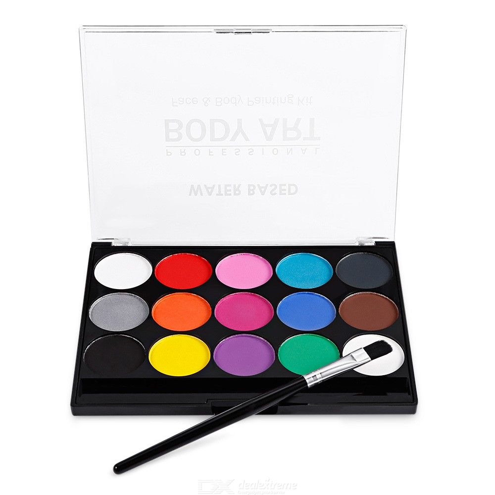15-Color-Face-Paint-Kit-Washable-Body-Painting-Madeup-Set-For-Party