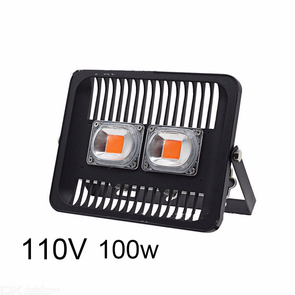 3000LM 100W LED Grow Flood Light IP66 Waterproof Outdoor For Square Garden
