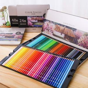 Colored Pencil Set Vibrant Color Pencil Pack For Adults And Kids Artists