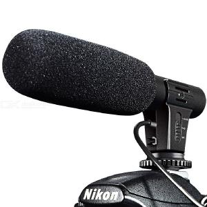 DSTE Interview Photography Recording On-Camera Microphone for Canon 6D 600D 70D 200D 750D Nikon D5 D7100 D3400 D90 D5300